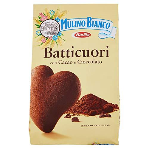 Mulino Bianco Biscotti Frollini Batticuori al Cacao, Perfetti per la Colazione - 350 g