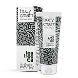 Australian Bodycare Body Cream 100 ml| Humectante Intensivo de Aceite de Árbol de Té para Piel Seca y Dañada | La Loción Deja la Piel Sana y Suave | Suave Crema Corporal