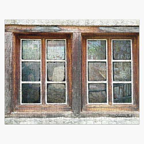 Puzzles 1000 Piece - Looking Inside The Old Potting Shed - Wooden Jigsaw Puzzle Daily Jigsaw Puzzle Games for Adults & Kids Challenge