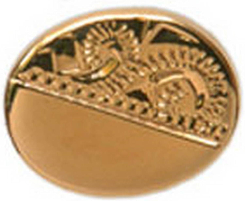 - - - Engraved Oval Tie Tac by David Van Hagen 579685