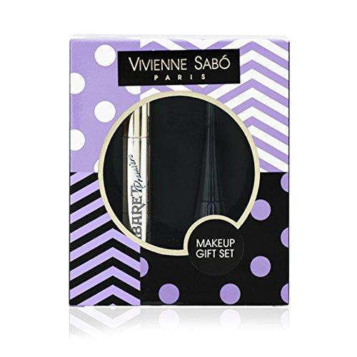 Vivienne Sabo Makeup Set/Mascara + Liquid Eyeliner