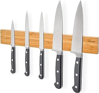 joeji's Kitchen Barre aimantée Porte Couteaux   Barre Aimant Couteau de 40 cm idéale pour Couteaux de Cuisine et ustensile...
