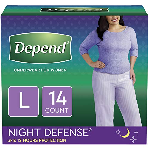 What Is The Best Overnight Diaper for Adults - Depend Night Defense Incontinence Overnight Underwear