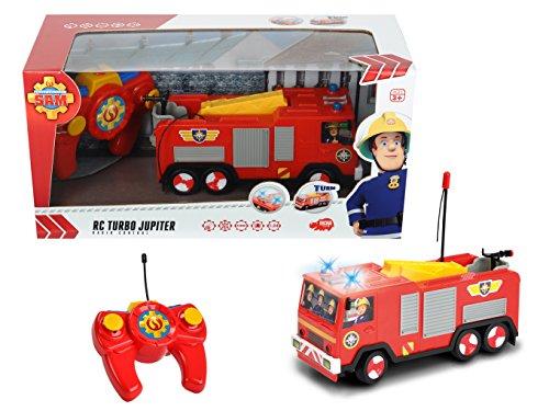 RC Auto kaufen Feuerwehr Bild 6: Dickie Toys 203099612 - RC Feuerwehrmann Sam Jupiter, funkferngesteuertes Feuerwehrauto, 22 cm*
