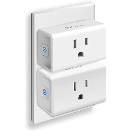 Kasa Smart Plug Ultra Mini 15A, Smart Home Wi-Fi Outlet Works with Alexa, Google Home & IFTTT, No Hub Required, UL Certified, 2.4G WiFi Only, 2-Pack(EP10P2)