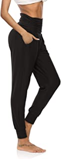 Womens Yoga Sweatpants Loose Workout Joggers Pants Comfy Lounge Pants with Pockets