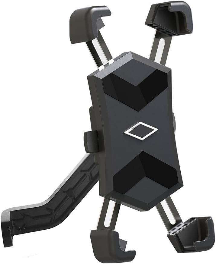 Cdoohiny Soporte de navegación universal ajustable para bicicleta scooter teléfono