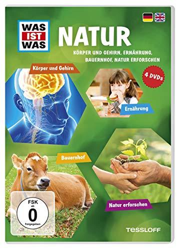 Was Ist Was DVD Natur. Körper und Gehirn, Ernährung, Bauernhof, Natur erforschen
