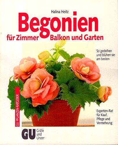 Begonien für Zimmer, Balkon und Garten. So gedeihen und blühen sie am besten. Experten-Rat für Kauf, Pflege und Vermehrung