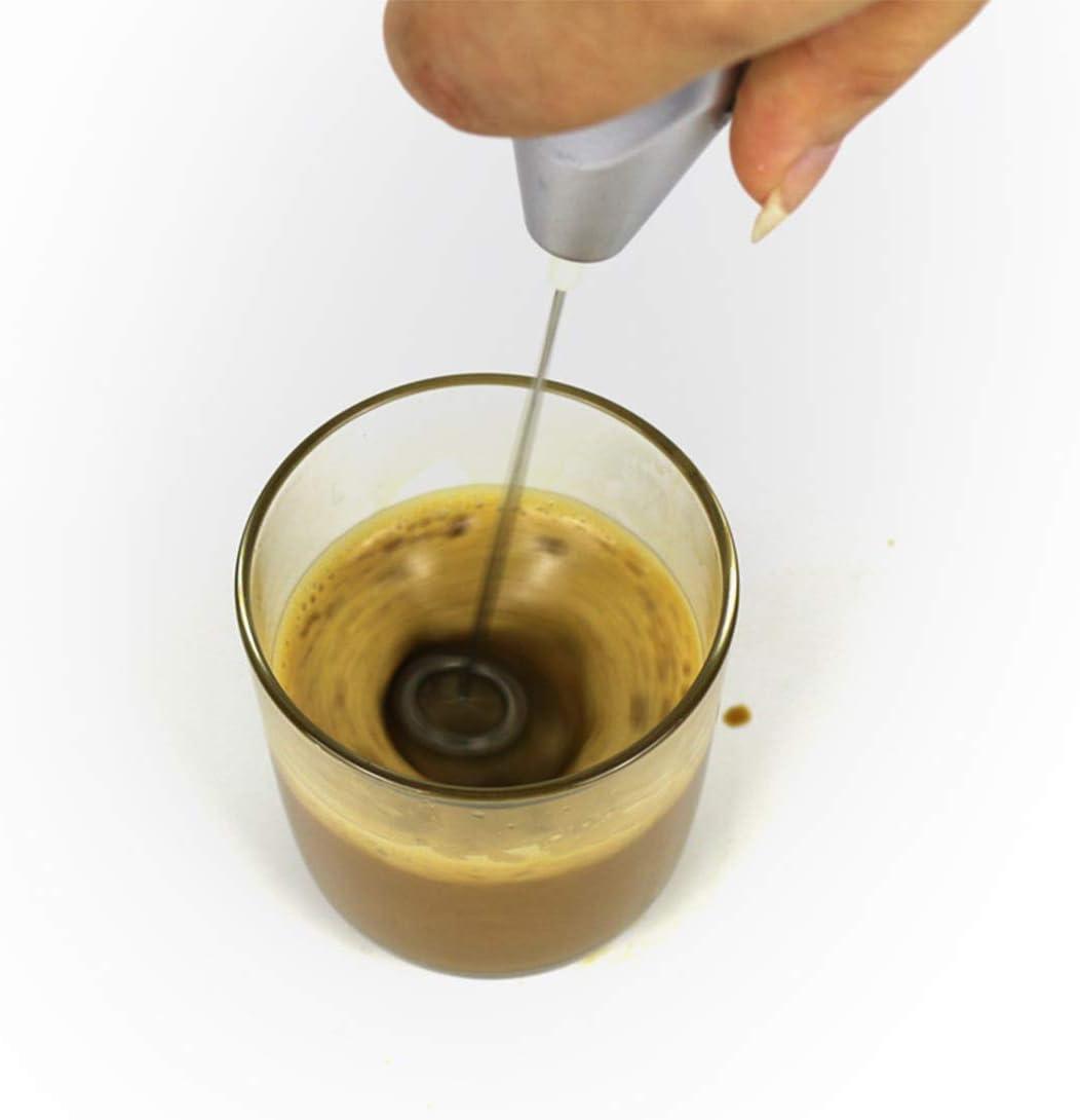 Kleine Mixer, tragbarer elektrischer Getränkemixer, geeignet für grundlegende Mischarbeit, ein guter Helfer für Ihre Küche,Red Brown