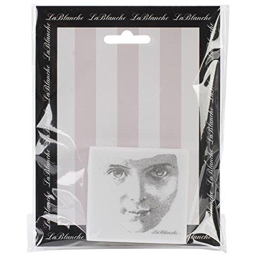 LABLANCHE Silikon-Stempel, 6,3 x 6,3 cm, freundliches Gesicht