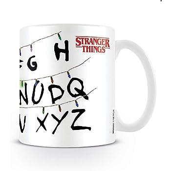 Stranger Things - Taza de desayuno Lights, 320ml