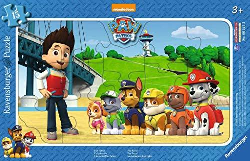 Ravensburger Kinderpuzzle 06124 - Paw Patrol - Rahmenpuzzle