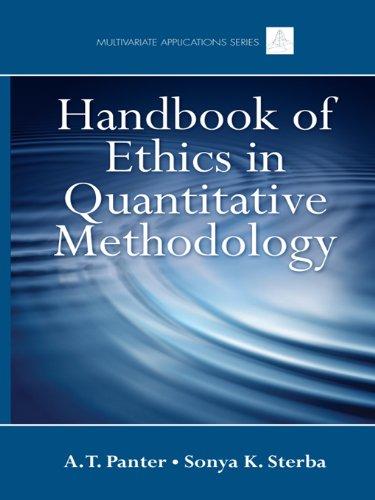 Handbook of Ethics in Quantitative Methodology (Multivariate Applications Series)