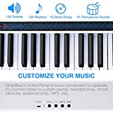 Immagine 2 vangoa tastiera pianoforte 61 tasti
