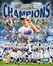 The Indianapolis Colts Peyton Manning & Team Collage Super Bowl 41, 8x10 Limited Edition Photograph Picture