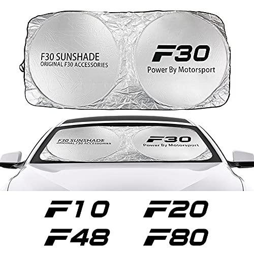 Copertura per Parabrezza per Auto Auto Parabrezza Sole Tronco coperchio compatibile con BMW F10 F20 F30 F31 F11 F14 F01 F12 F11 F11 F34 F01 F12 F18 F18 F32 F33 F12 F18 F18 F32 F33 F45 F46 F82 F85 Acce