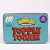 Fizz Creations World's Smallest Topple Tower Novelty Desktop Game