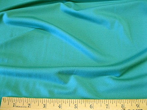 Fabric Polyester Lycra Spandex 4 way stretch Light Turquoise Matt Finish LY905