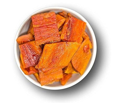 1001 Frucht getrocknete Papaya naturbelassen I Exotische Trockenfrüchte ohne Zusatzstoffe - Papaya Getrocknet ungezuckert I Sonnengetrocknete aromatische Papaya - Trockenobst ungeschwefelt I (1000 GR)