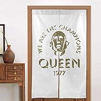 のれん 目隠し Curtain ロング 暖簾 和風のれん Queen クイーン おしゃれ 間仕切りカーテン 遮光のれん シェードカーテン つっぱりカーテン 出入り口 キッチン 玄関のれん 断熱防寒 86 X 143cm 飾り物 洋室 和室 部屋飾り