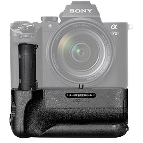 Neewer Vertikaler Batteriegriff Ersatz, kompatibel mit Sony VG-C2EM Funktioniert mit NP-FW50 Batterie für Sony A7 II A7S II und A7R II Kameras (Batterie nicht enthalten)