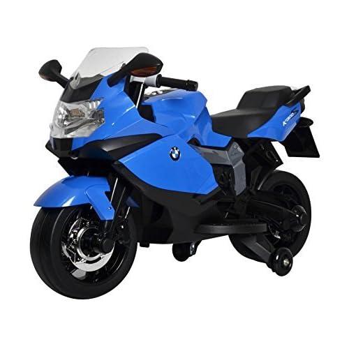 Brunte BMW Original Licensed Battery Operated Ride-On Bike, Blue