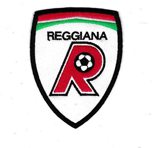 MAREL Patch Stemma REGGIANA Calcio 6,5 x 8,5 cm Toppa Ricamata Ricamo Replica - 507