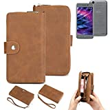 K-S-Trade® 2in1 Mobile Phone Wallet Case For Medion E5008