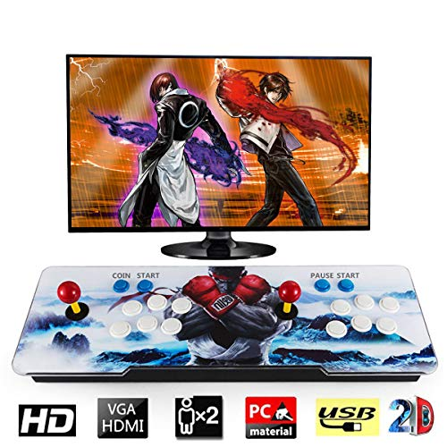 Barbella 1500 Classic Pandora 6s Box Arcade Console 1280x720 Full HD Video Game Console with HDMI VGA USB for TV PC Retro Arcade Gaming Console