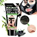 Purifying Black Face Mask,Blackhead Mask,Charcoal Face Mask,Peel off mask,Purifying Acne Blackhead Mask,Deep Cleansing Mask,Gentle blackhead,exfoliation,shrink pores,suitable for all skins. from Ldreamam