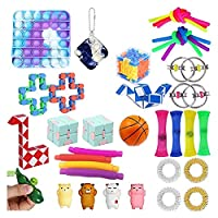 Fidget Toy Packs格安のギャックのおもちゃを設定する (Color : 35pcs C)
