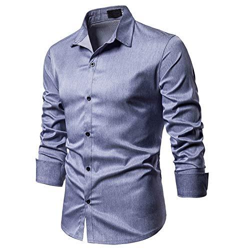 MUMU-001 Camisa de Vestir de Negocios sociales Blusa de Colo