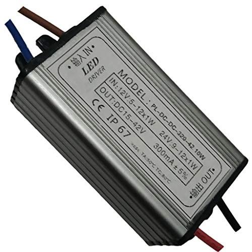 Sharplace Controlador Regulable AC / DC12-24V 1W 300mA Alimentación Concepto Ergonómico Profesional