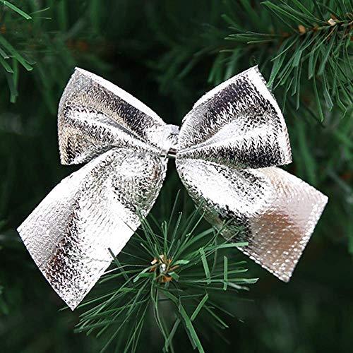 nobranded Colgante de Navidad con lazo para el hogar, árbol de Navidad, decoración de fiesta, colgante y dije