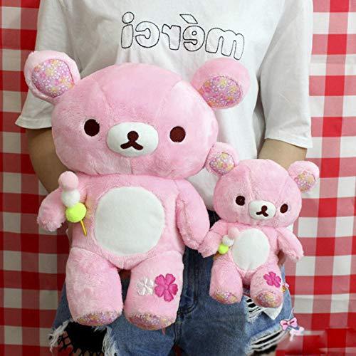 CPFYZH Simpático peluche grande con oso cerezo, muñeca de peluche suave de peluche para animales