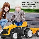 Immagine 2 costway trattore elettrico per bambini