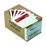 Quality Park Top Print Packing List Envelope, Self-Adhesive, Clear, 5.5 x 4.5, 1,000 per Case, (46896)