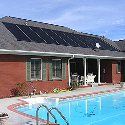 """XtremepowerUS 2-Pack Inground/Above Ground Swimming Pool Spa Solar Panel Heating System 28"""" inch x 20' ft Heating Pool"""