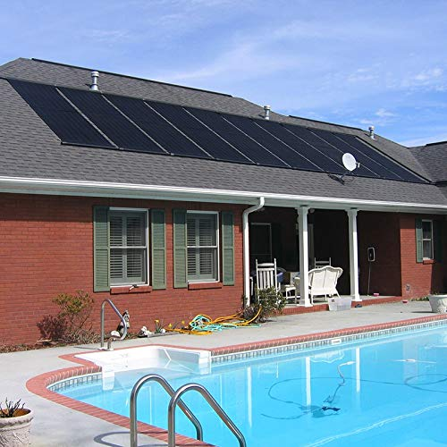 "XtremepowerUS Inground/Above Ground Swimming Pool Solar Panel Heating System 28"" X 20'"