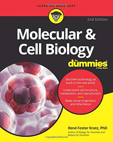 Molecular and Cell Biology For Dummies, 2nd Edition