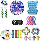 Mubineo Sensory Fidget Giocattoli Pack per bambini o adulti Fidget Giocattoli Confezione a mano Giocattoli Stress Ansia Relief Giocattoli Set per l'ADHD (Toy Set EB)
