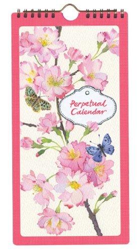 Cherry Blossom Garden Perpetual Calendar by Mary Woodin (Perpetual Calendar, 1 Jan 2013) Paperback