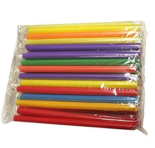 Sungpunet Cannucce colorate usa e getta, 50pezzi, per bevande e tè