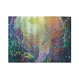 HASENCIV 500 Piezas Rompecabezas Rompecabezas Animales Marinos Multicolores bajo el Agua con arrecifes de Coral y Coloridos Peces Acuario artístico Familia Educativo Intelectual Descompresión