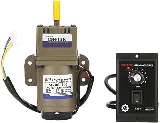 KEKEYANG AC Motor del Engranaje, Engranaje asíncrono monofásico de deceleración del Motor de Velocidad for Motor 220V 6W (15K) Industrial