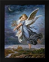 The Guardian Angel Framed Art Print by Von Kaulbach, Wilhelm