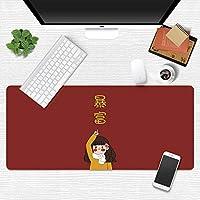かわいいゲーミングマウスパッド700x300特大XXLゲーマーキーボードマウスパッド防水マウスパッドデスクマウスマットゲームアクセサリー-300x700x2mm I