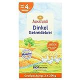 Alnatura Bio Dinkel Getreidebrei nach dem 4. Monat - Großpackung