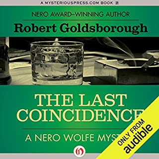 The Last Coincidence audiobook cover art